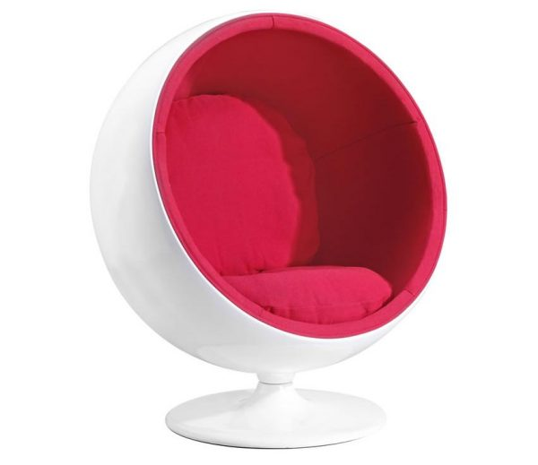 Modern Lounge Chair MZ-MIB Red
