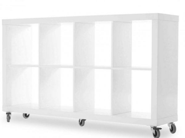 Tema Home Bookcase Rolly 4x2