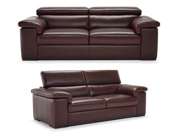 Raffaele B620 Recliner Sofa by Natuzzi Editions
