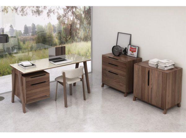 Modern Office Desk Howard by Huppe | Made in Canada