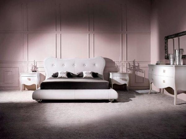 Modern Platform Bed by Doimo Victoria