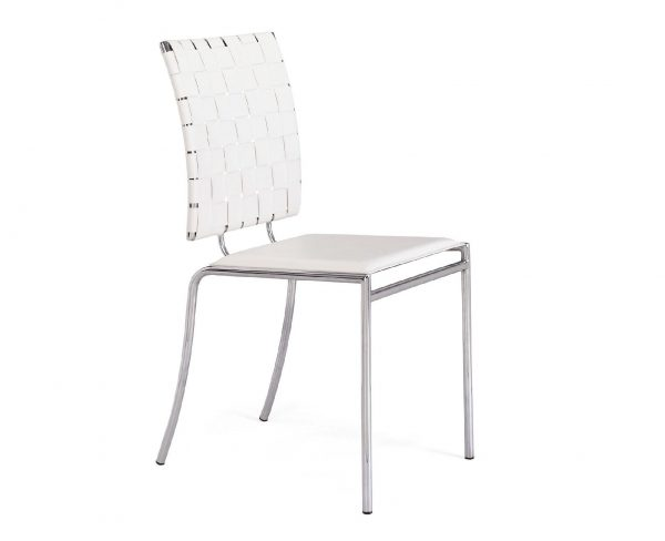Modern Dining Chair MZ-Criss White