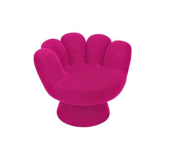 Modern Lounge Chair LM-Matt Pink