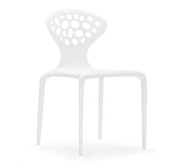 Modern Dining Chair MZ-Marzipan White