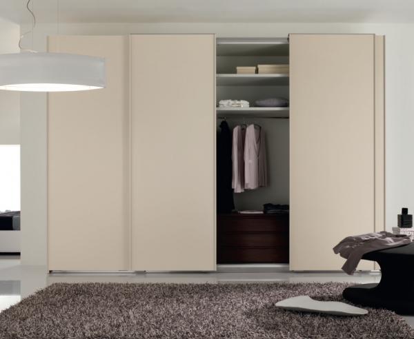 Modern Italian Wardrobe SP-Liscia White