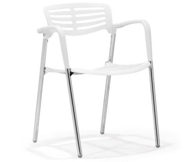 Modern Dining Chair MZ-Scapa White