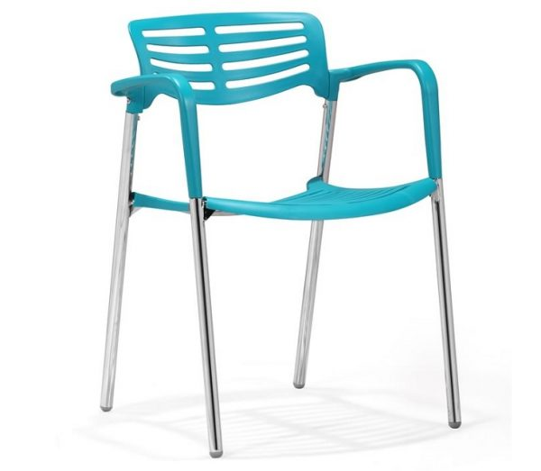 Modern Dining Chair MZ-Scapa Blue
