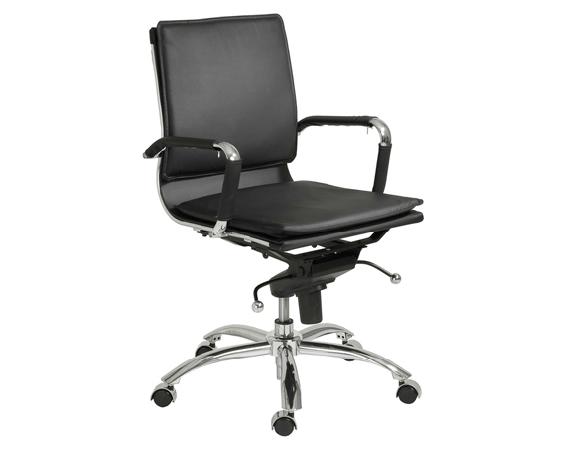 Modern Office Chair IM-Gunar Low Back BK
