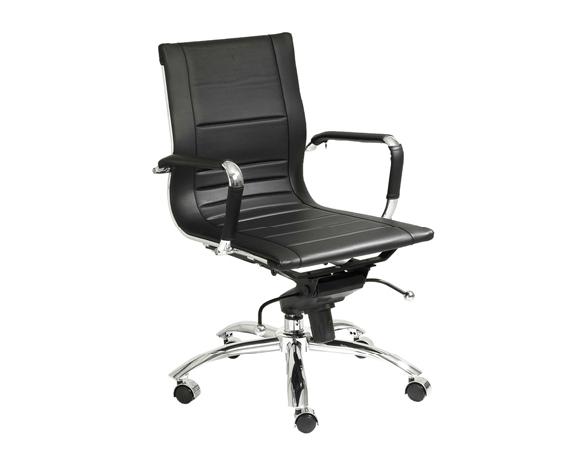 Modern Office Chair IM-Owen Low Back Black