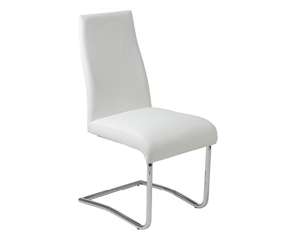 Modern Dining Chair IM-Rooney LB White