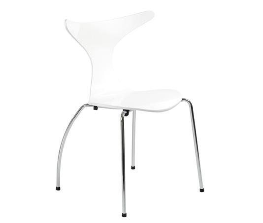 Modern Dining Chair IM-Frida White