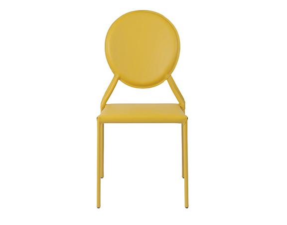 Modern Dining Chair IM-Isabella Yellow