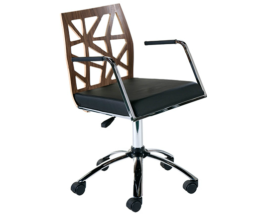 Modern Office Chair IM-Sophia Walnut