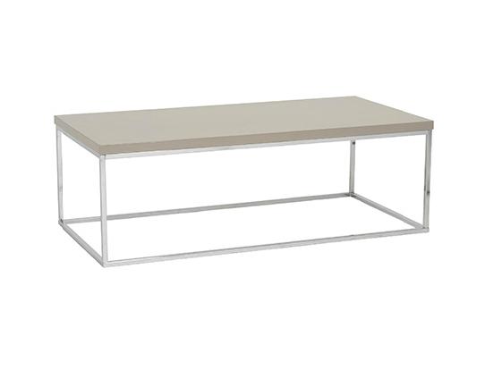 Modern Coffee Table IM-Teresa Latte Rectangular