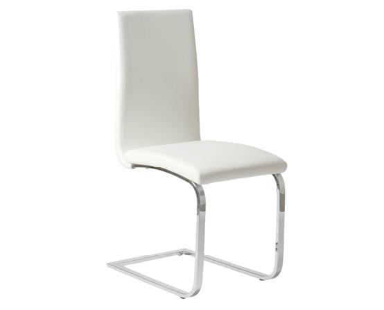 Modern Dining Chair IM-Santos White