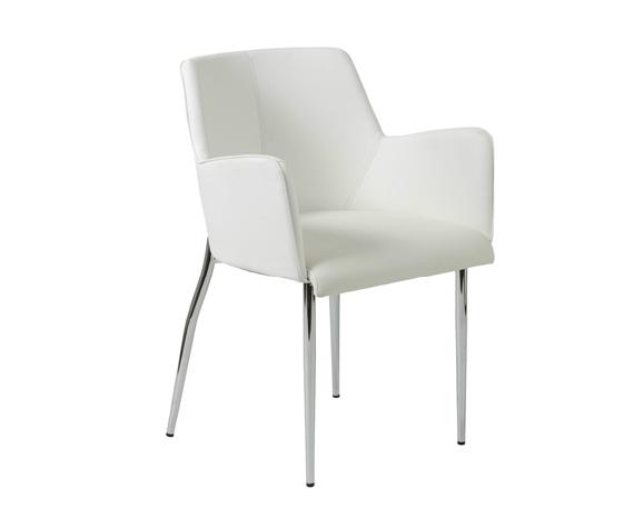Modern Dining Chair IM-Sunny White