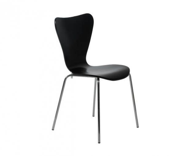 Modern Dining Chair IM-Tendy Black