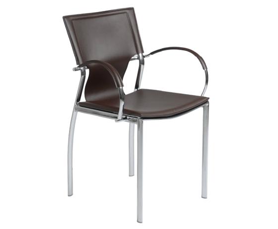 Modern Dining Chair IM-Vinnie Brown