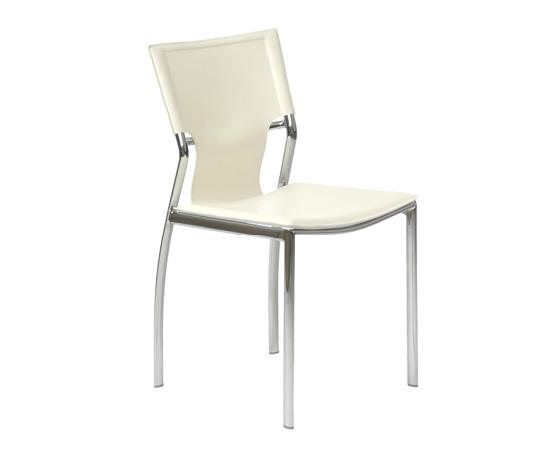 Modern Dining Chair IM-Vannie Side White