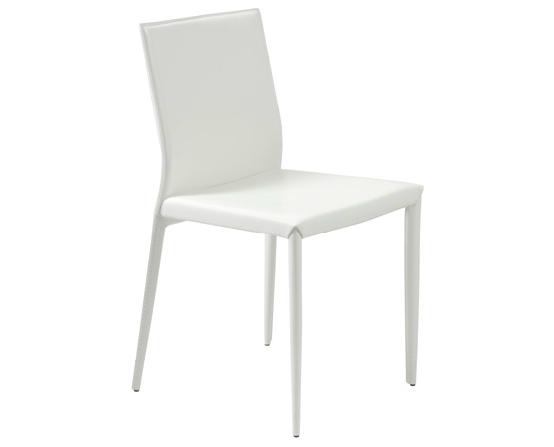 Modern Dining Chair IM-Shen White