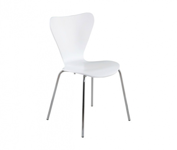 Modern Dining Chair IM-Tendy White