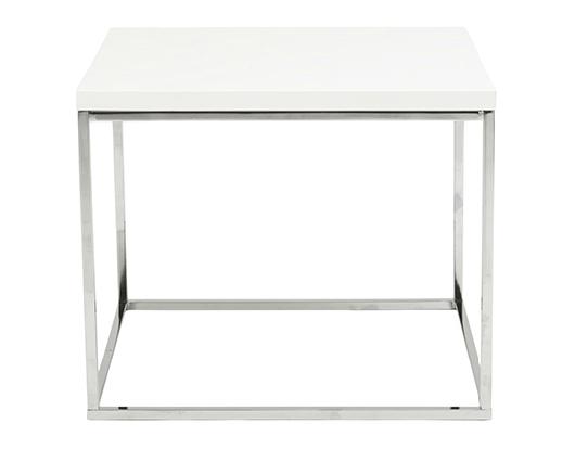 Modern End Table IM-Teresa White