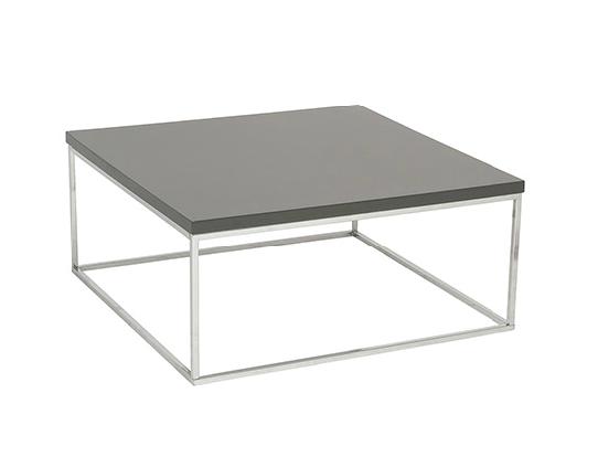 Modern Coffee Table IM-Teresa Gray Square