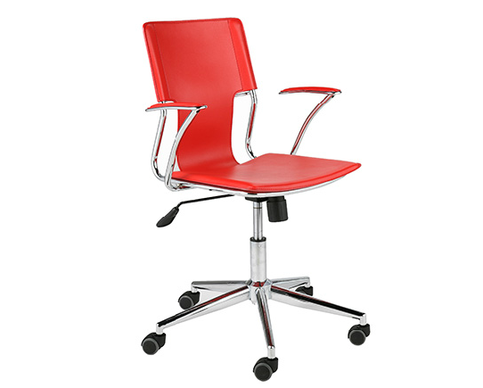 Modern Office Chair IM-Terry Red