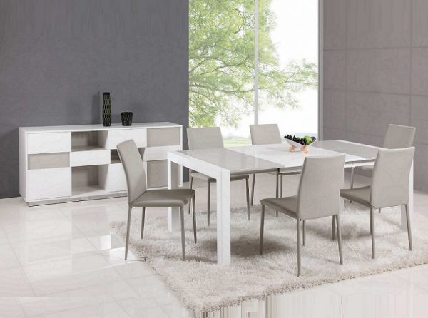 Gina Extendable Dining Table by Chintaly