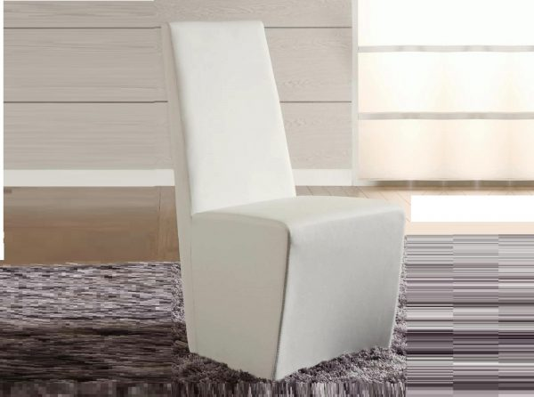 Chintaly Cynthia Dining Chair White PU