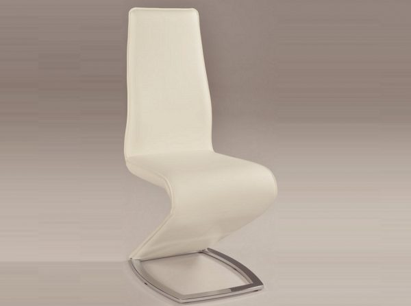 Chintaly Tara Modern Dining Chair White