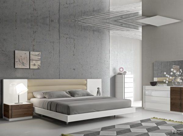 Modern Bedroom Lisbon by J&M Furniture