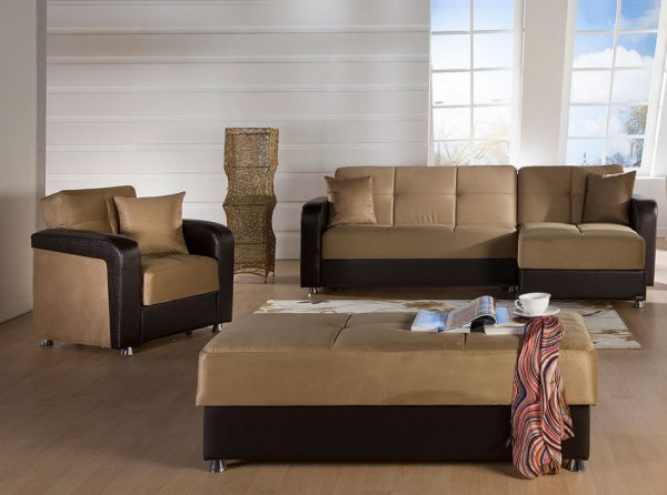 Sunset Furniture Sectional Sofa Bed Vision