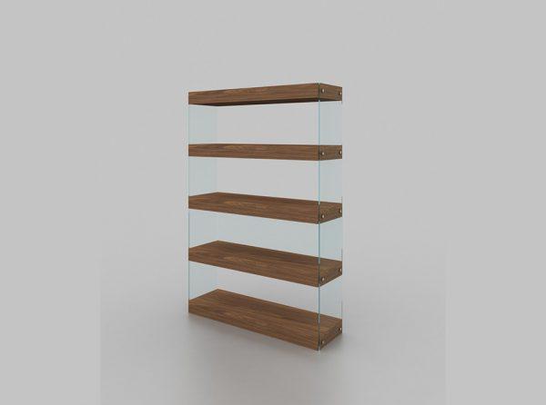 Elm Curio By J&M Furniture
