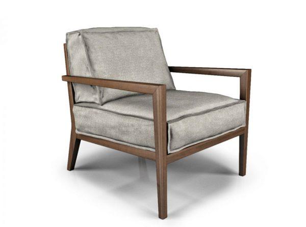 Modern Lounge Chair Citta by Huppe