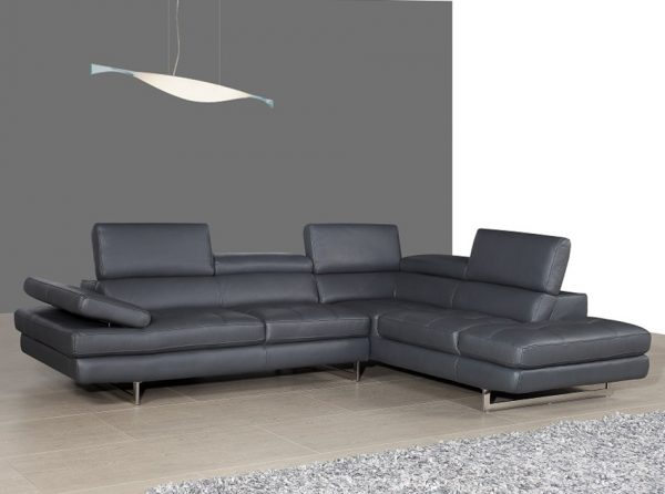 Sectional Leather Sofa A761 by J&M Furniture