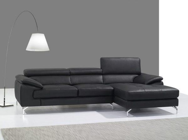 Sectional Sofa A973B by J&M Furniture   Black