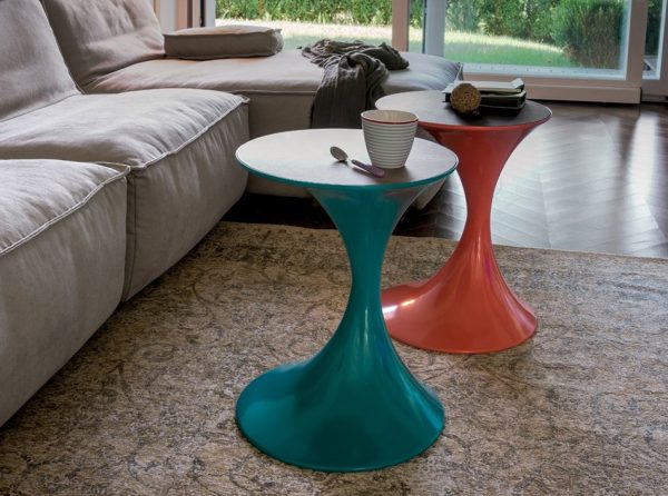End Table Andorra by Tonin Casa