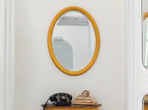 Classic Wall Mirror Azimut by Tonin Casa