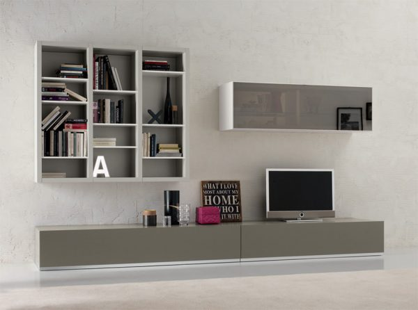 Spar Italian Wall Unit T25   Exential Collection