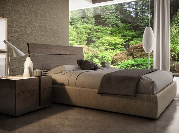 Huppe Plank Modern Bedroom Set