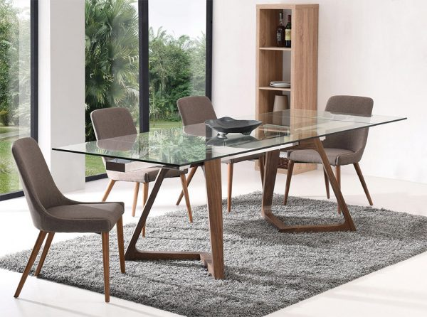 Modern Extendable Dining Table EF-8811