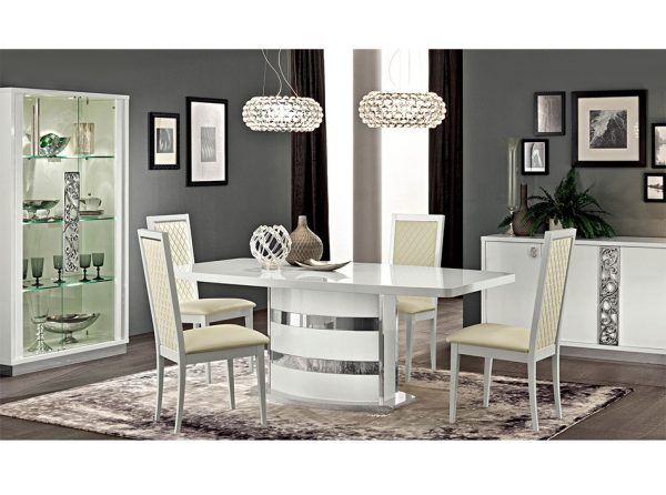 Modern Dining Table EF-Roma White, Italy