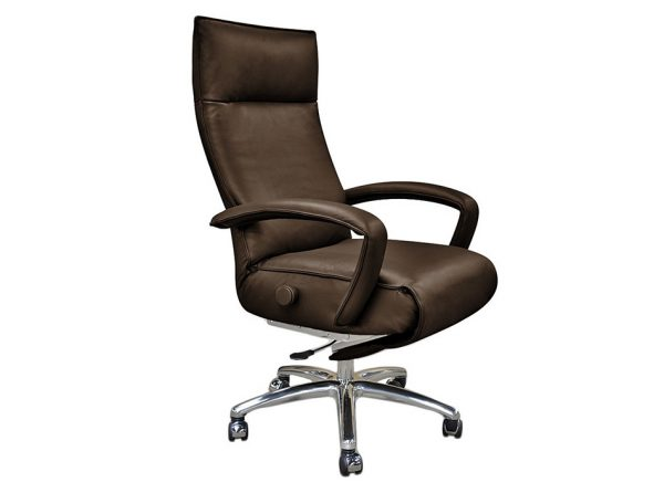 Lafer Gaga Executive Reclining Office Chair Brown