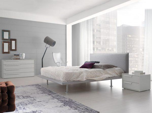 Air Modern Italian Platform Bed by Spar