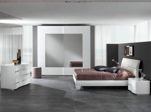 Italian Platform Bed / Bedroom Lux by Spar