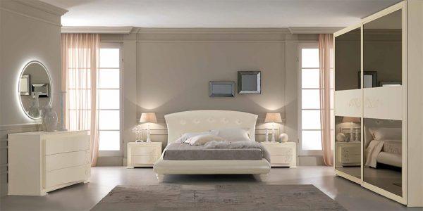 Italian Bed / Bedroom Set Luna 02 by SPAR