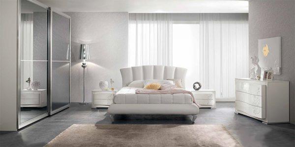 Spar Contemporary Italian Bed / Bedroom Set Ventaglio