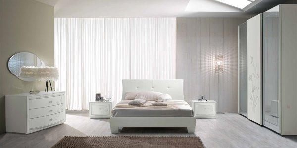Lux 04 Italian Bed / Bedroom Set by SPAR