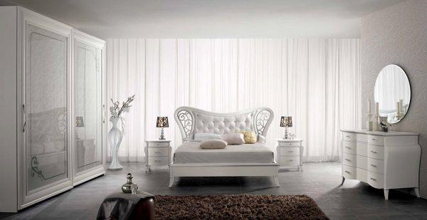 Classic Italian Bedroom Set Deco by SPAR